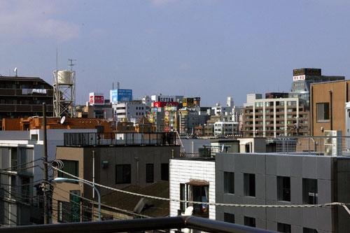 view/吉祥寺の街