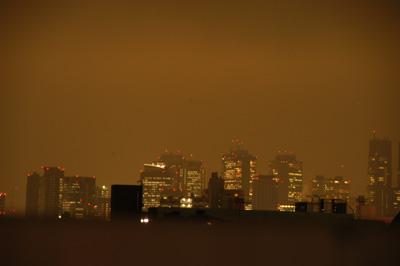 高円寺の家・夜景01